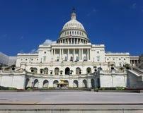 Edificio del capitolio de Estados Unidos, en Capitol Hill en Washington DC fotos de archivo libres de regalías
