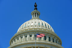 Edificio del capitolio de Estados Unidos en el Washington DC, los E.E.U.U. Foto de archivo