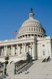 Edificio del capitolio de Estados Unidos en Washington DC Imagen de archivo libre de regalías