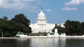 Edificio del capitolio de Estados Unidos, Washington, C almacen de metraje de vídeo