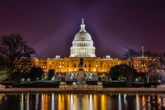Edificio del capitolio de Estados Unidos, Washington DC Fotografía de archivo libre de regalías