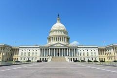 Edificio del capitolio de Estados Unidos, Washington DC, los E Fotos de archivo