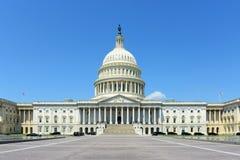 Edificio del capitolio de Estados Unidos, Washington DC, los E Imagen de archivo libre de regalías