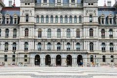 Edificio del capitolio de Nueva York en el norte del estado Albany, Nueva York Foto de archivo