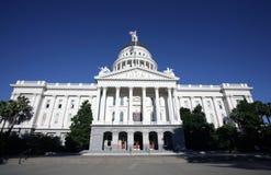 Edificio del capitolio del estado de California Imagenes de archivo
