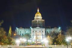 Edificio del capitolio del estado de Colorado en Denver Fotos de archivo