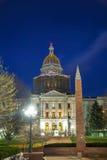 Edificio del capitolio del estado de Colorado en Denver Fotos de archivo libres de regalías