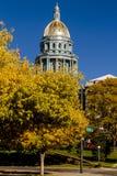 Edificio del capitolio del estado de Colorado en Denver imagen de archivo libre de regalías