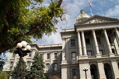 Edificio del capitolio del estado de Colorado en Denver céntrica Fotografía de archivo