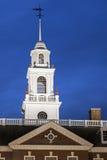 Edificio del capitolio del estado de Delaware en Dover foto de archivo libre de regalías