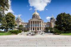 Edificio del capitolio del estado de Iowa, Des Moines Imagenes de archivo