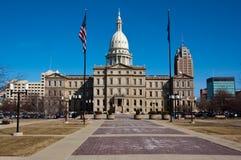 Edificio del capitolio del estado de Michigan Imagen de archivo libre de regalías