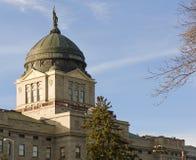 Edificio del capitolio del estado de Montana Imágenes de archivo libres de regalías