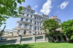 Edificio del capitolio del Estado de Nueva York, Albany Imágenes de archivo libres de regalías