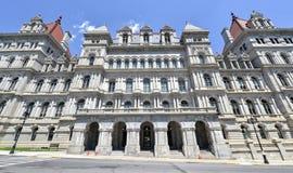 Edificio del capitolio del Estado de Nueva York, Albany Imagen de archivo libre de regalías