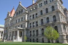Edificio del capitolio del Estado de Nueva York en Albany Imagen de archivo libre de regalías