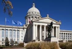 Edificio del capitolio del estado de Oklahoma Foto de archivo