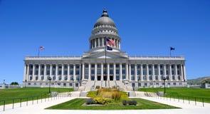Edificio del capitolio del estado de Utah Fotos de archivo libres de regalías