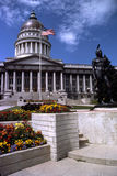 Edificio del capitolio del estado de Utah imagen de archivo libre de regalías
