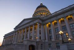 Edificio del capitolio del estado de Utah Imágenes de archivo libres de regalías