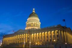 Edificio del capitolio del estado de Utah Foto de archivo libre de regalías