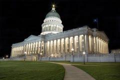 Edificio del capitolio del estado de Utah Fotografía de archivo