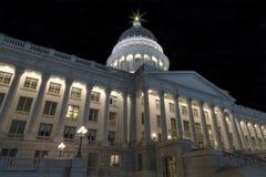 Edificio del capitolio del estado de Utah Imagen de archivo