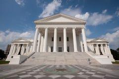 Edificio del capitolio del estado de Virginia fotos de archivo libres de regalías