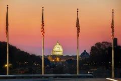 Edificio del capitolio del estado en Washington, DC Foto de archivo