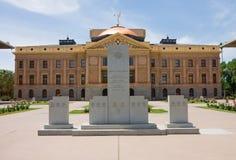 Edificio del capitolio en Phoenix fotografía de archivo