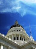 Edificio del capitolio en Sacramento, CA Fotos de archivo