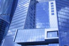 Edificio del centro de negocios Imagenes de archivo