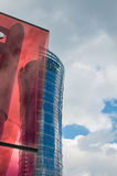Edificio del chapitel de Varsovia Jefaturas de Samsung Polonia Imagen de archivo libre de regalías
