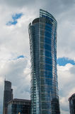 Edificio del chapitel de Varsovia Jefaturas de Samsung Polonia Fotos de archivo libres de regalías