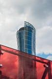 Edificio del chapitel de Varsovia Jefaturas de Samsung Polonia Imágenes de archivo libres de regalías
