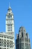 Edificio del Chicago Fotografia Stock Libera da Diritti