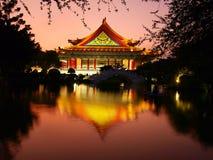 Edificio del chino tradicional imagen de archivo libre de regalías