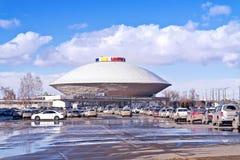 Edificio del circo como UFO Fotos de archivo libres de regalías
