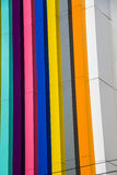 Edificio del color imagen de archivo