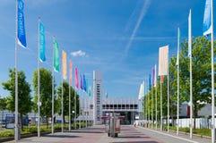 Edificio del comercio justo Fotografía de archivo libre de regalías