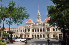 Edificio del comité de la gente, Vietnam Fotos de archivo