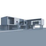 Edificio del concepto ilustración del vector