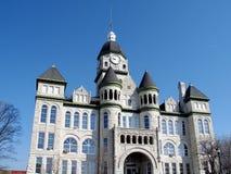 Edificio del condado, Carthage, Missouri foto de archivo