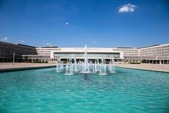Edificio del consejo ejecutivo federal Imagen de archivo