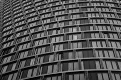 Edificio del contraste Fotos de archivo