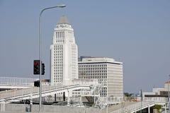 Edificio del corridoio di città di Los Angeles Immagine Stock Libera da Diritti