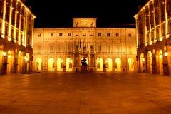 Edificio del corridoio di città di Torino Immagine Stock