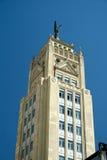 Edificio del déco del arte en Madrid Fotografía de archivo libre de regalías