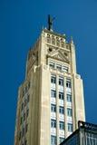 Edificio del déco del arte en Madrid Imagen de archivo libre de regalías