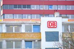 Edificio del DB Imágenes de archivo libres de regalías